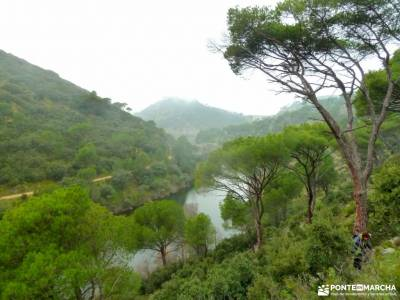 Garganta Picadas_Via Verde Alberche;iniciacion senderismo rutas montaña cerca madrid viajes de lujo